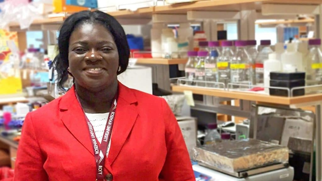 A top female academic wins an award to tackle antibiotic resistance against TB.